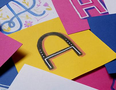 Lettering Illustrations