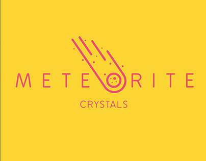 Visual Identity - Meteorite Crystals. New logo.