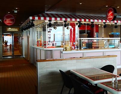 Pizzeria del Capitano, Carinval Vista