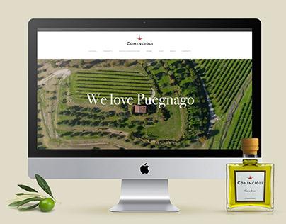 Comincioli - Website