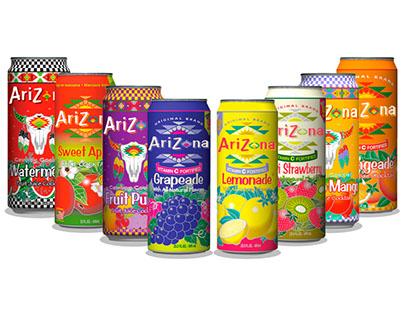 Arizona Iced Tea Rebranding