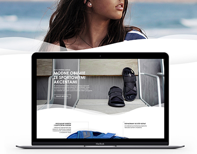 Landing Page for Ecco