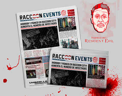 Newspaper of Raccoon City (Resident Evil)