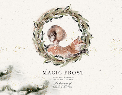 Magic Frost. Holiday Graphics