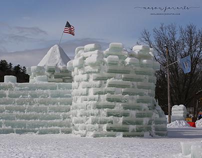 Saranac Lake Ice Palace 2021