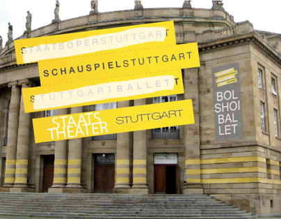 """Pitch for the """"Staats Theater Stuttgart"""" - Corporate"""