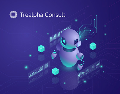 Landing page Trealpha Consult