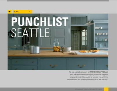 Punchlist Seattle website