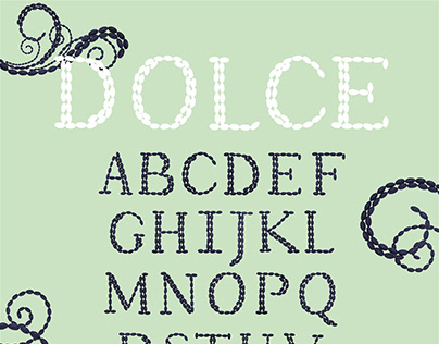 Dolce Typeface