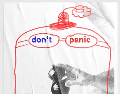 Don't panic shirt