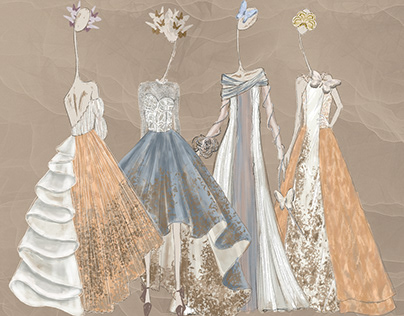 CFDA Project   Dream Butterfly   Bridal A/W