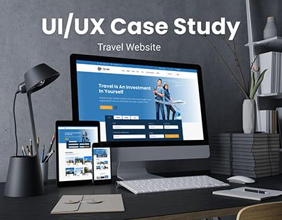 UI/UX Case Study On Travel Website Design