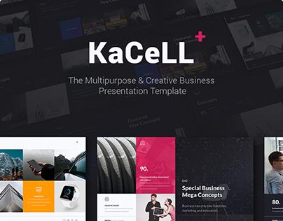 Kacell Multipurpose Presentation Template