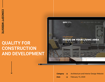 Quality for construction and development Website