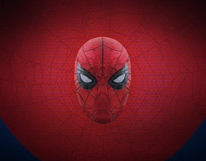 Spider Man | Low Poly Vector Illustration