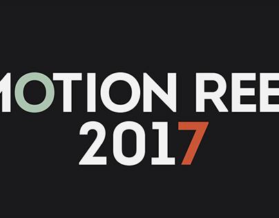 Motion Design Showreel 2017