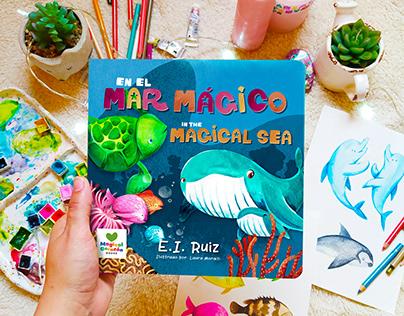 In the Magical Sea Bilingual Board Book
