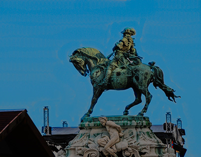 Statues of Budapest (Hungary)