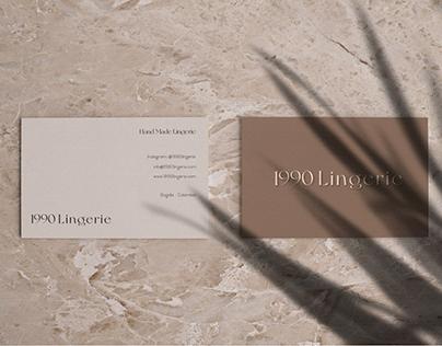 1990 Lingerie - Branding