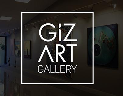 GizArt Gallery Logo Design
