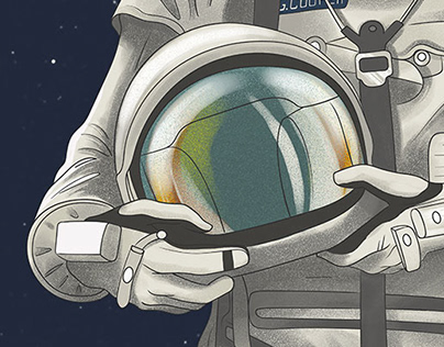 Astronaut cutout illustrations - UAlberta Libraries
