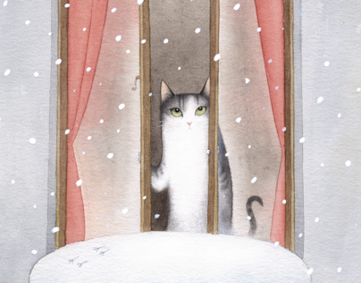 Cecil and the Joys of Winter
