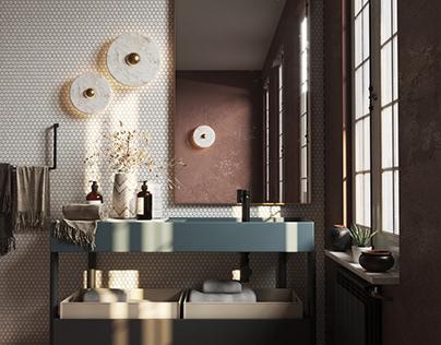 Bathroom Vienna 2.0 Corona Render