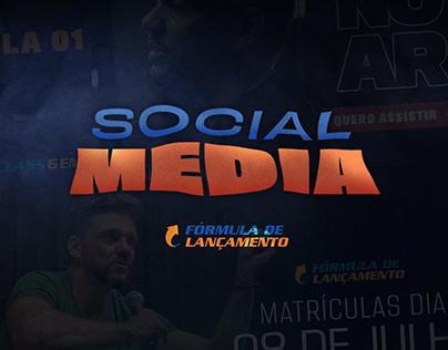 Social media | Erico Rocha - Fórmula de Lançamento