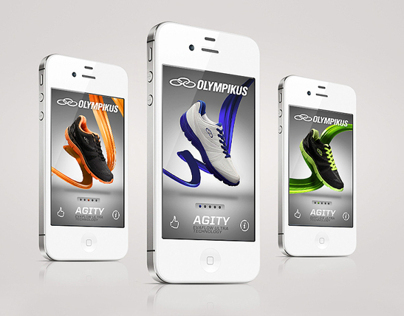 Olympikus Mobile Apps + Website