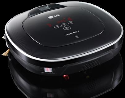 Hom-Bot Square : robotic vacuum cleaner