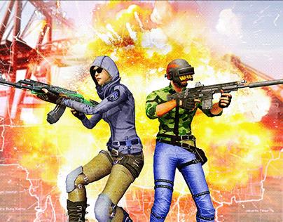 FPS Commando Secret Mission - Real Shooting Games