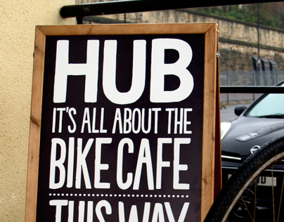 HUB Cycle cafe.