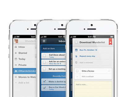 Wunderlist 2 for iPhone