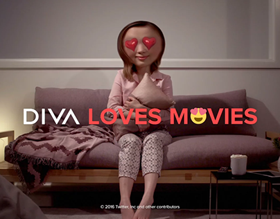 DIVA Loves Movies - Ident - Love
