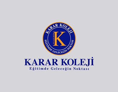 Ataşehir Karar Koleji Logo, Kurumsal Kimlik Projesi