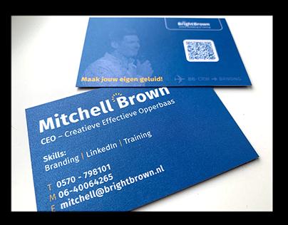 1025 & 1036 | Viscom, Banner & Card Bright Brown