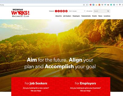 Michigan Works! Website Redesign