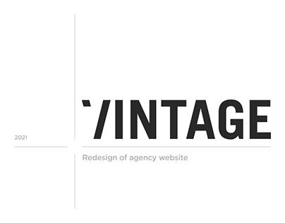 Vintage – Agency website