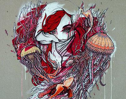 Jellyfish Canvas