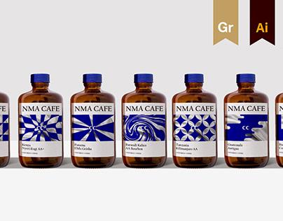 NMA CAFE | Visual Identity Design