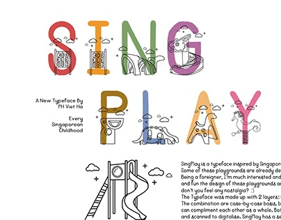 SingPlay Typeface Design