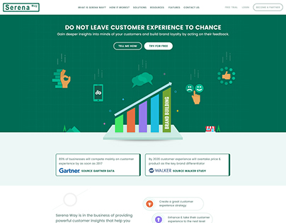 Customer Survey Product Home Page Design