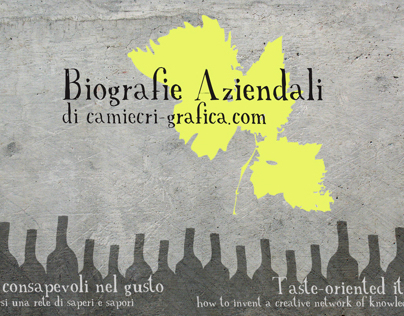 wine biographyes | corporate identity and project