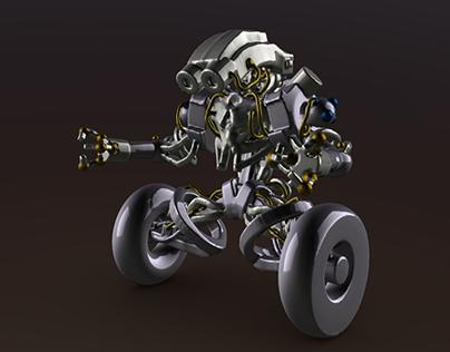 Robot Wheeler