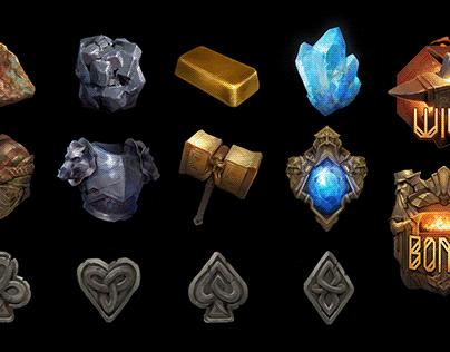 Dwarven Mines Symbols