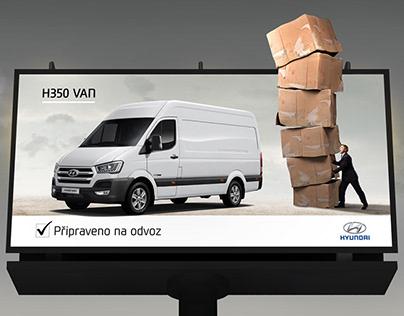Billboard H350 Van