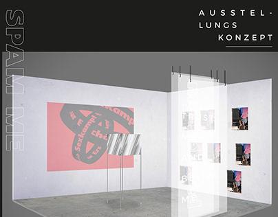 SPAM ME - Exhibition concept