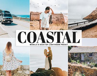 Free Coastal Mobile & Desktop Lightroom Preset