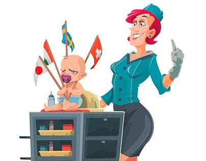 Ilustração Vetorial (compilation vector illustration)