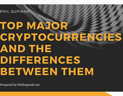 Top Major Cryptocurrencies and The Differences Between